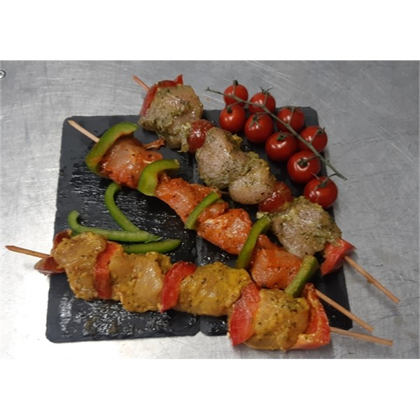 Photo de Brochette de poulet mangue